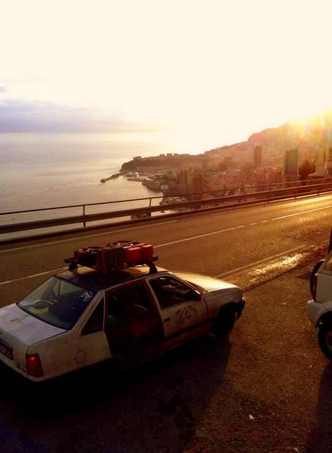 Der Opel Kadett in Monaco