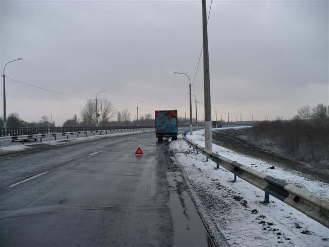 Iveco-Magirus 80-13a: Panne auf der ukrainischen Autobahn