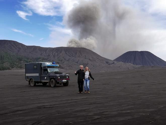 Weltreise finanzieren Ellen und Jonas
