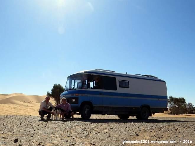 Weltreise finanzieren: Paola und Igel