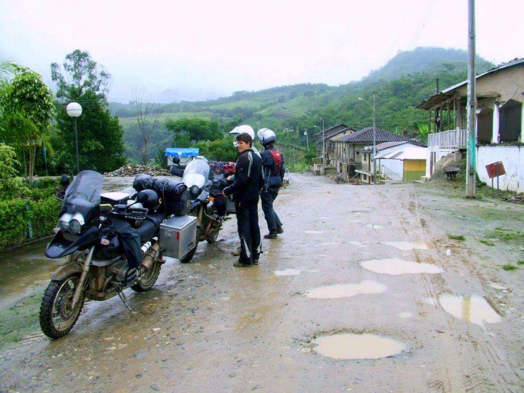 Reisemotorrad Weltreise