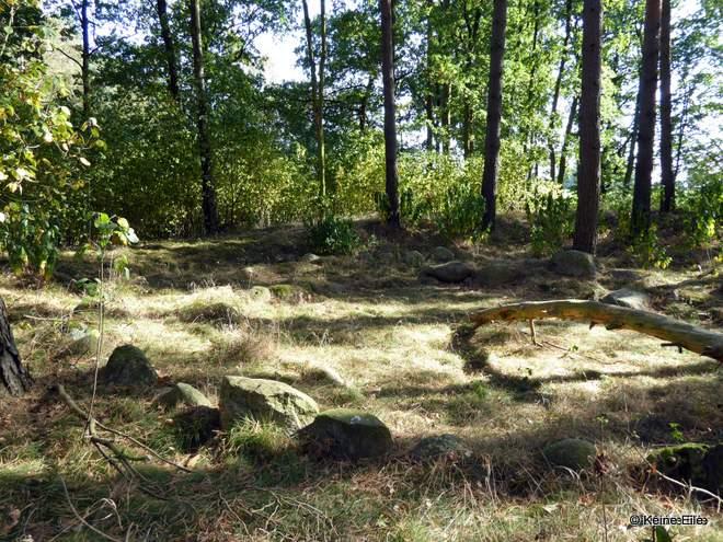 die Steine vom Teufelsberg gesucht