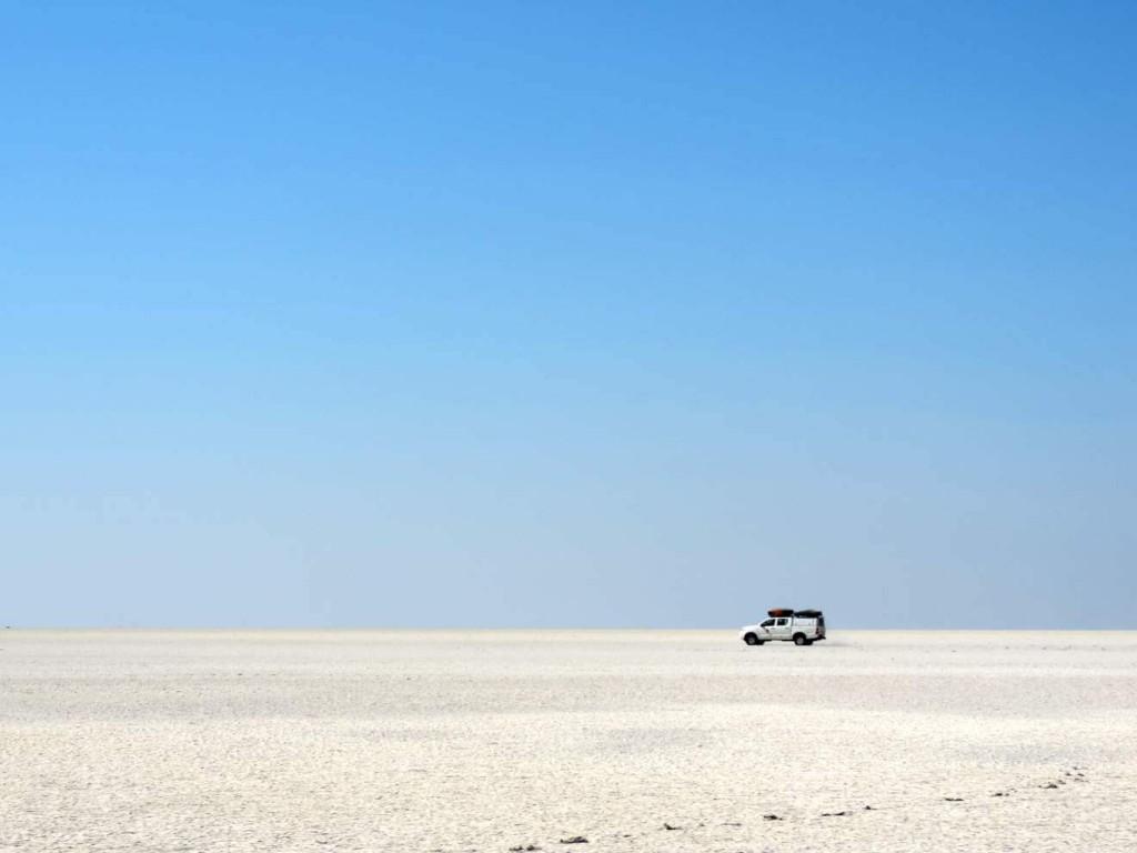 Botswana Selbstfahrer Rundreise: Makgadikgadi-Salzpfanne
