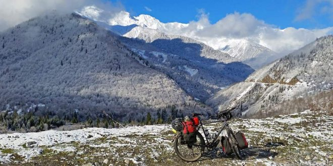 Mit dem Fahrrad durch Georgien