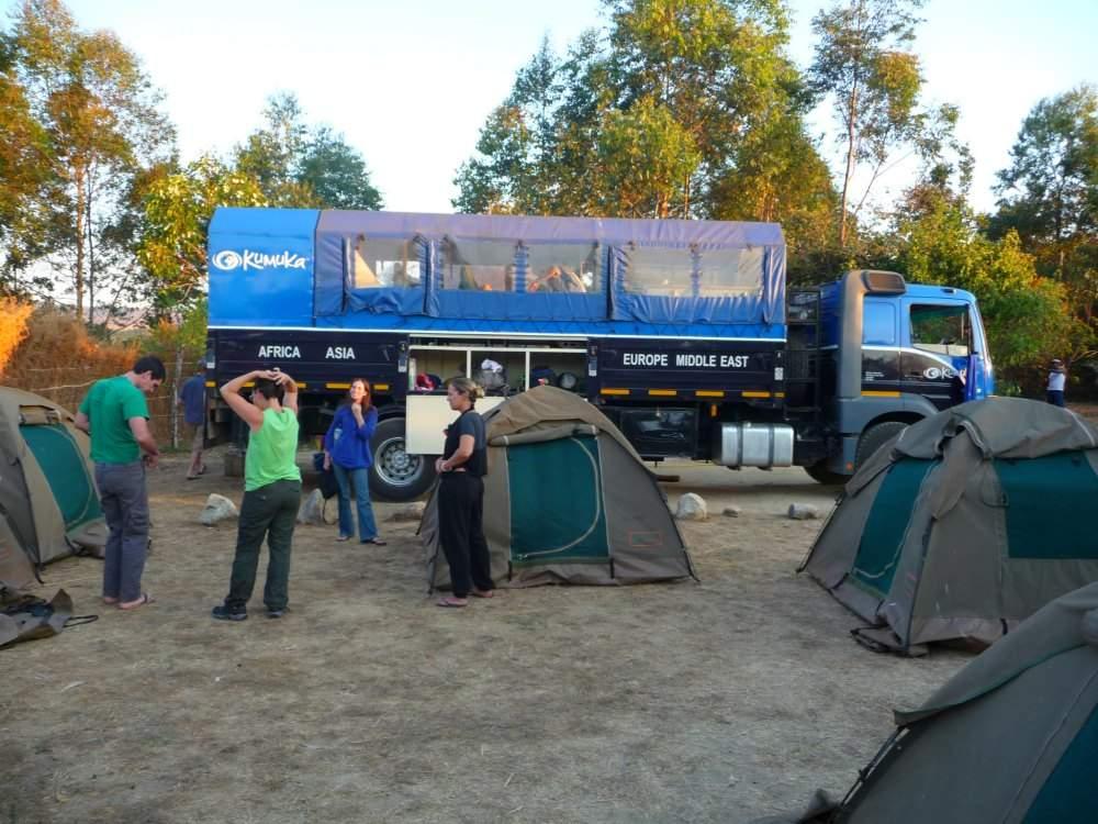 Overland Tour Ostafrika