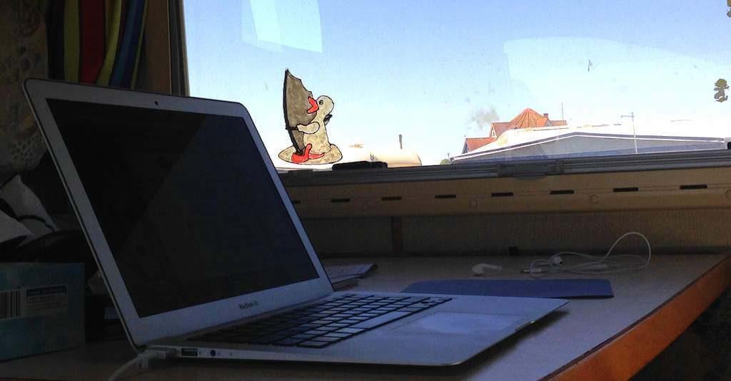 Digitale Nomaden im Wohnmobil