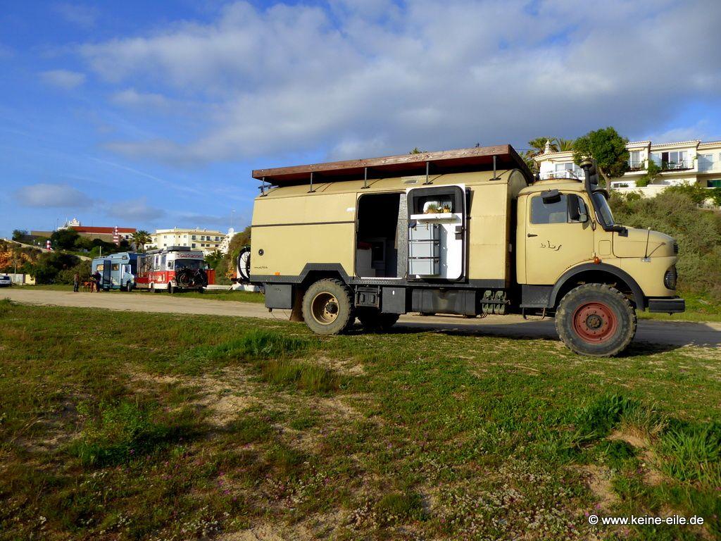 Überwintern Portugal Wohnmobil Algarve ©keine-eile.de