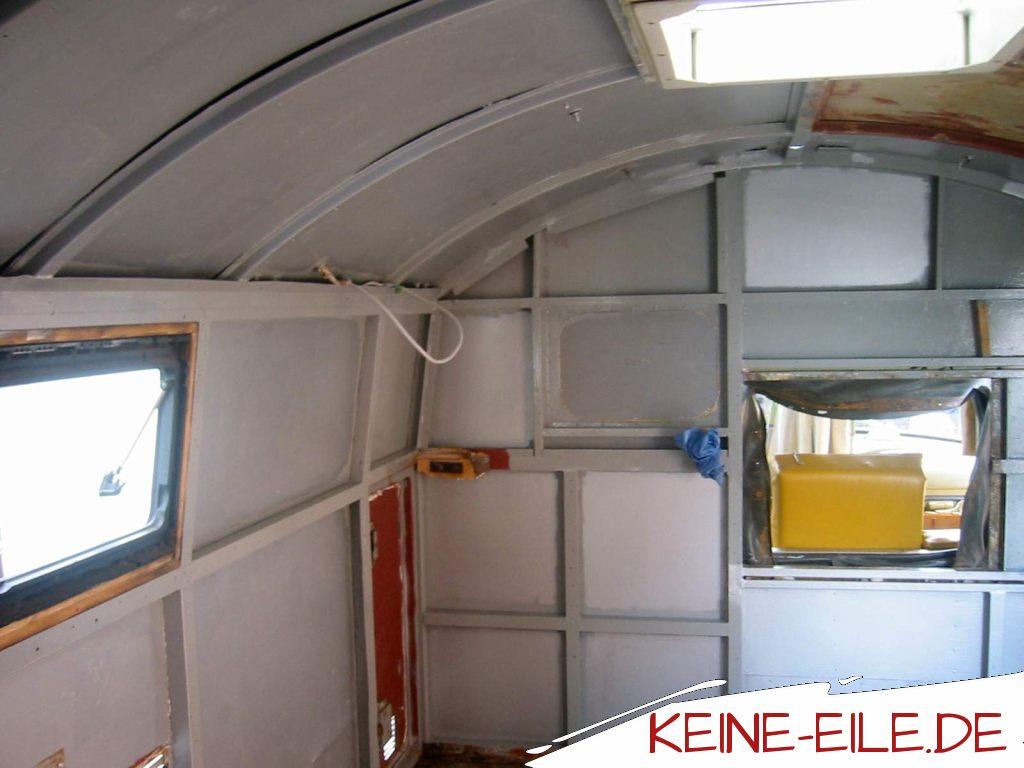 Mercedes Kurzhauber 710 Innenausbau