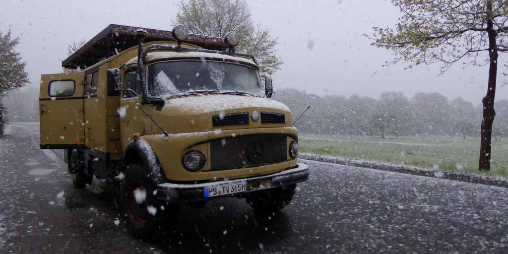 Überwintern in Portugal: Rückreise