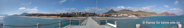 Porto Santo Anlegesteg