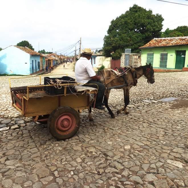 Radreise Kuba Trinidad ©SusanneK.2017