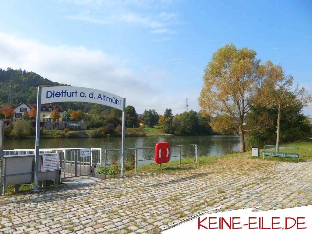 Anreise Griechenland: Dietfurt an der Altmühl