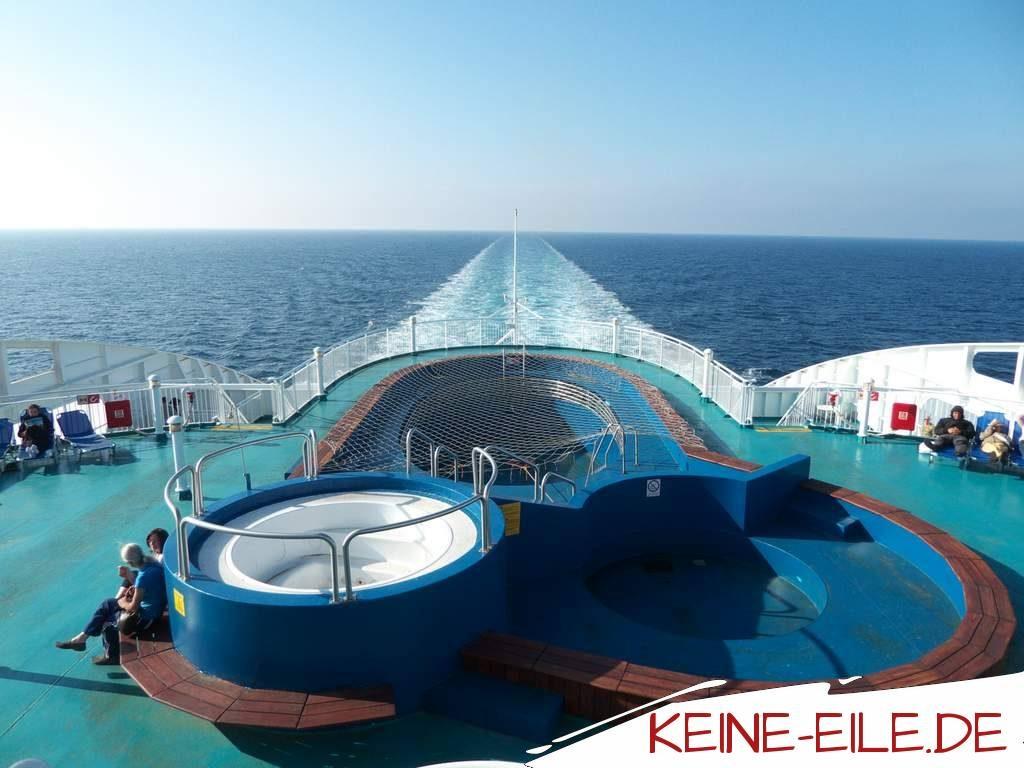 Camping an Bord: Mit der Fähre von Ancona nach Patras