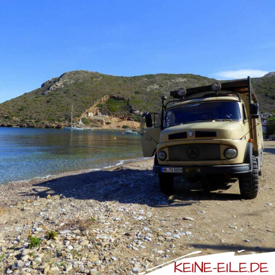 Griechenland, Mani: Porto Kagio