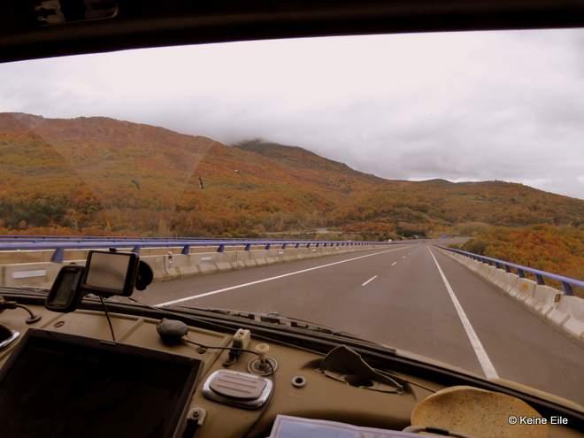 Mit dem Wohnmobil nach Portugal, Anreise über Caceres