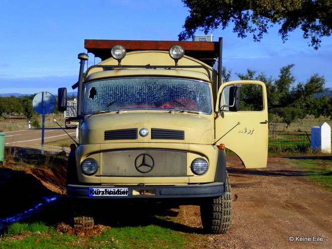Mit dem Wohnmobil nach Portugal, Panne