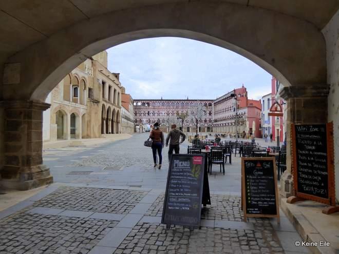 Mit dem Wohnmobil nach Portugal, Anreise über Badajoz Spanien