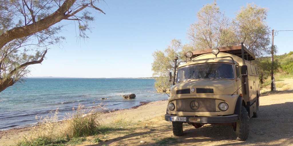 Reisebericht Griecheland Patras - Pylos