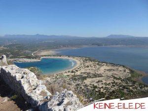 Reisebericht Griechenland: Voidokilia Beach