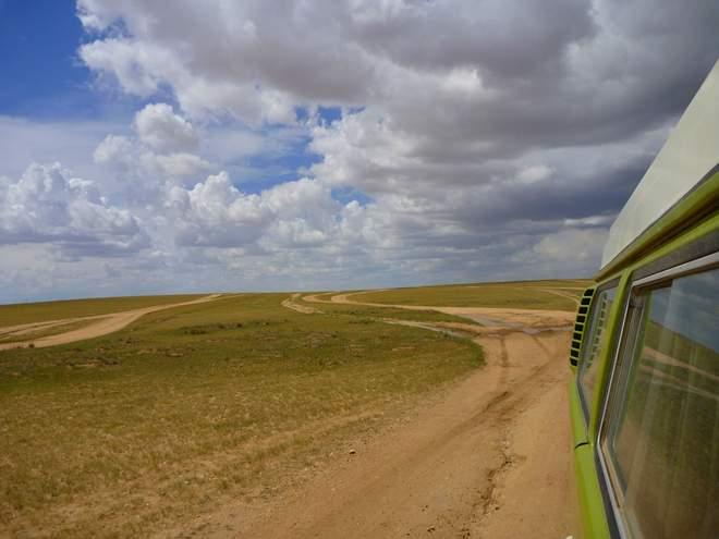 Der VW Bulli T2 in der Mongolei