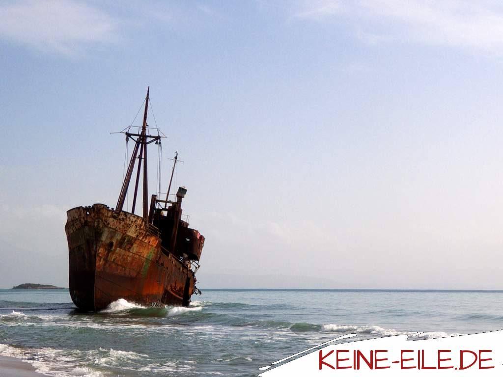 Reisebericht Griechenland: Wrack der Dimitrios