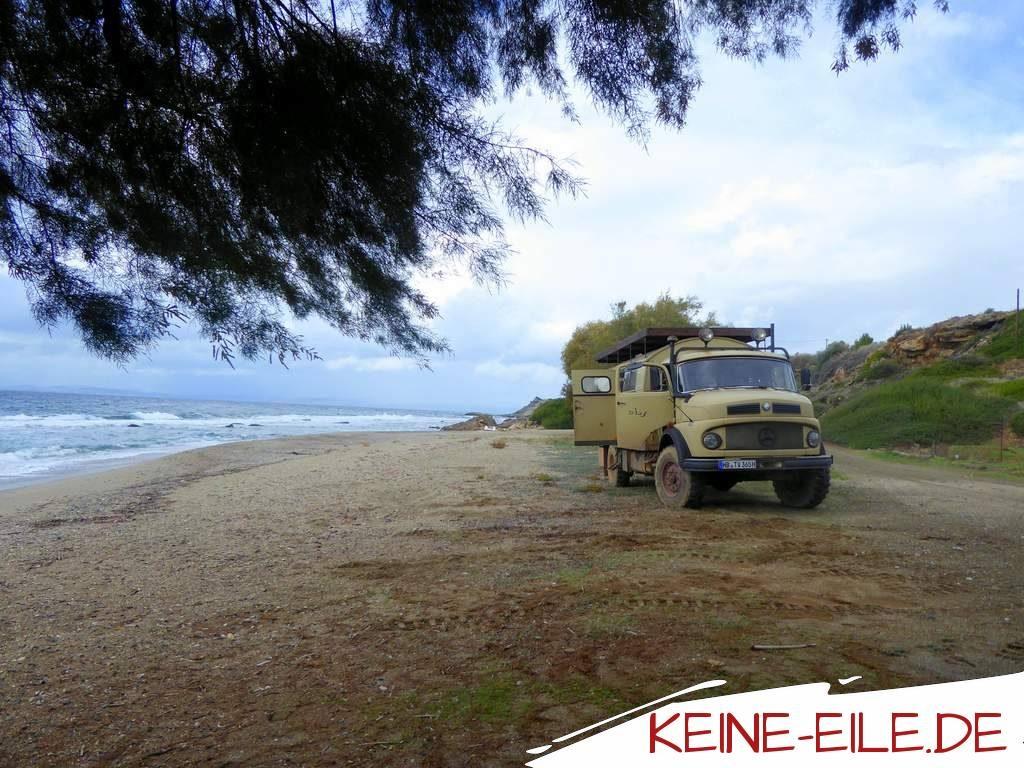 Reisebericht Griechenland: Tigania Beach