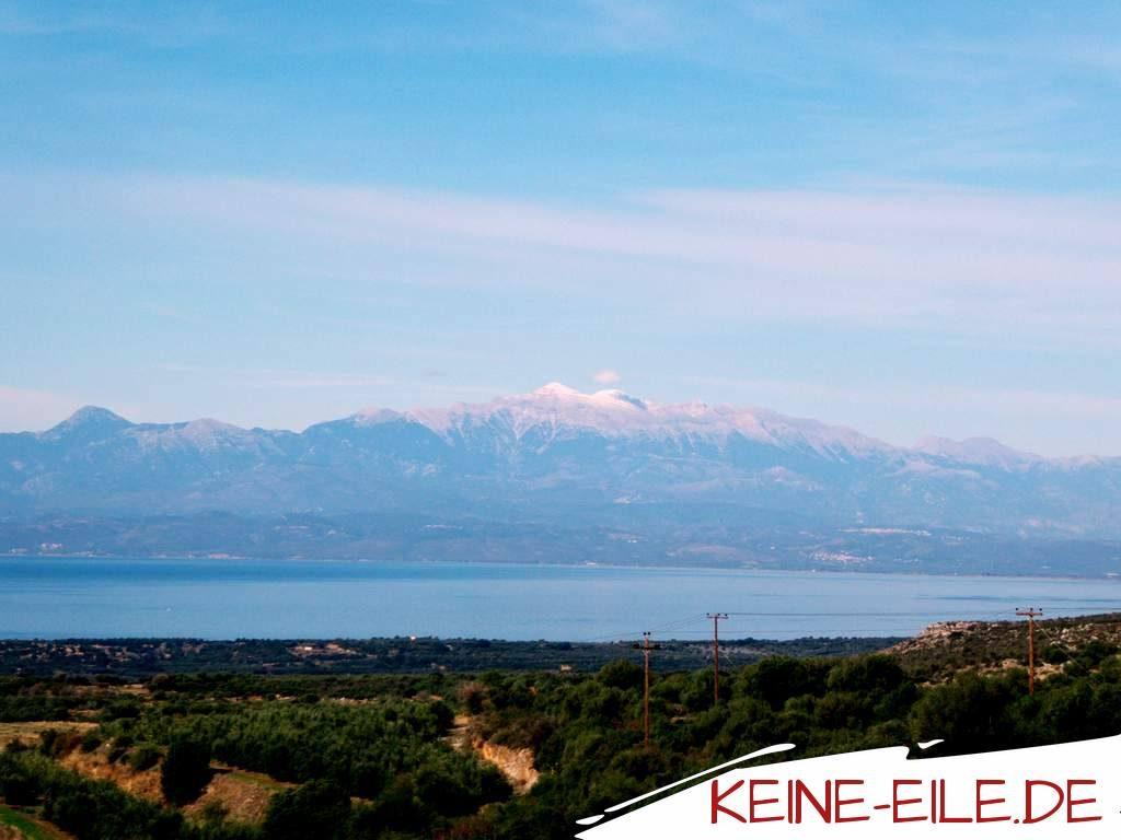 Reisebericht Griechenland: Ausblick auf die Mani