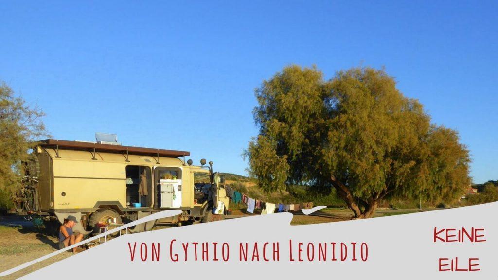 Reisebericht Griechenland: Mit dem Wohnmobil von Gythio nach Leonidio