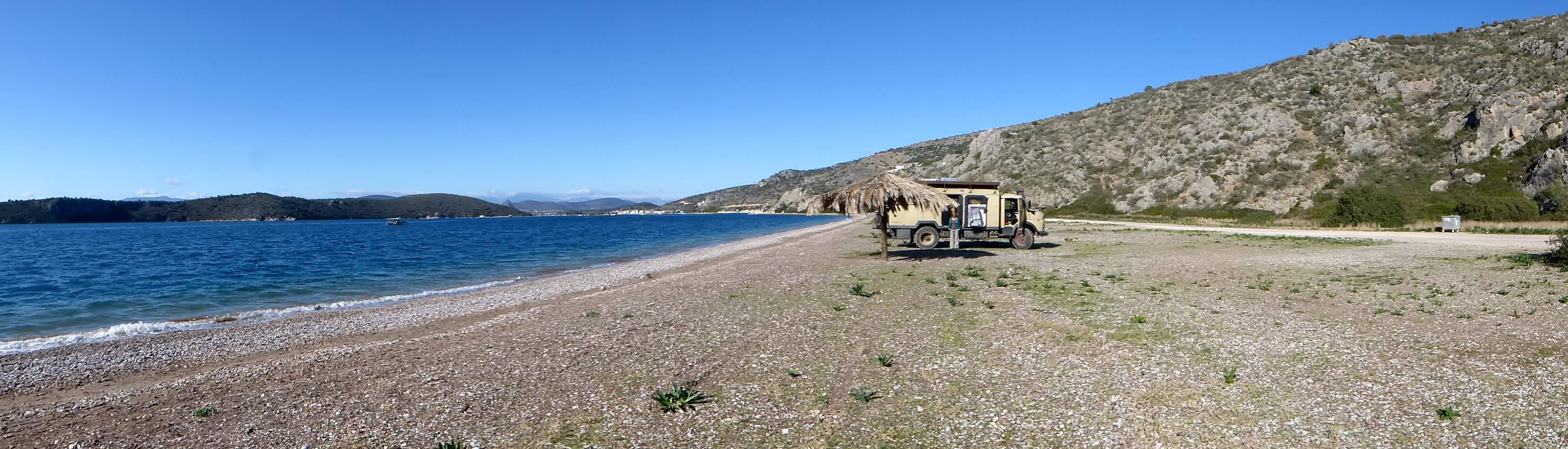 parken am Kondyli Beach