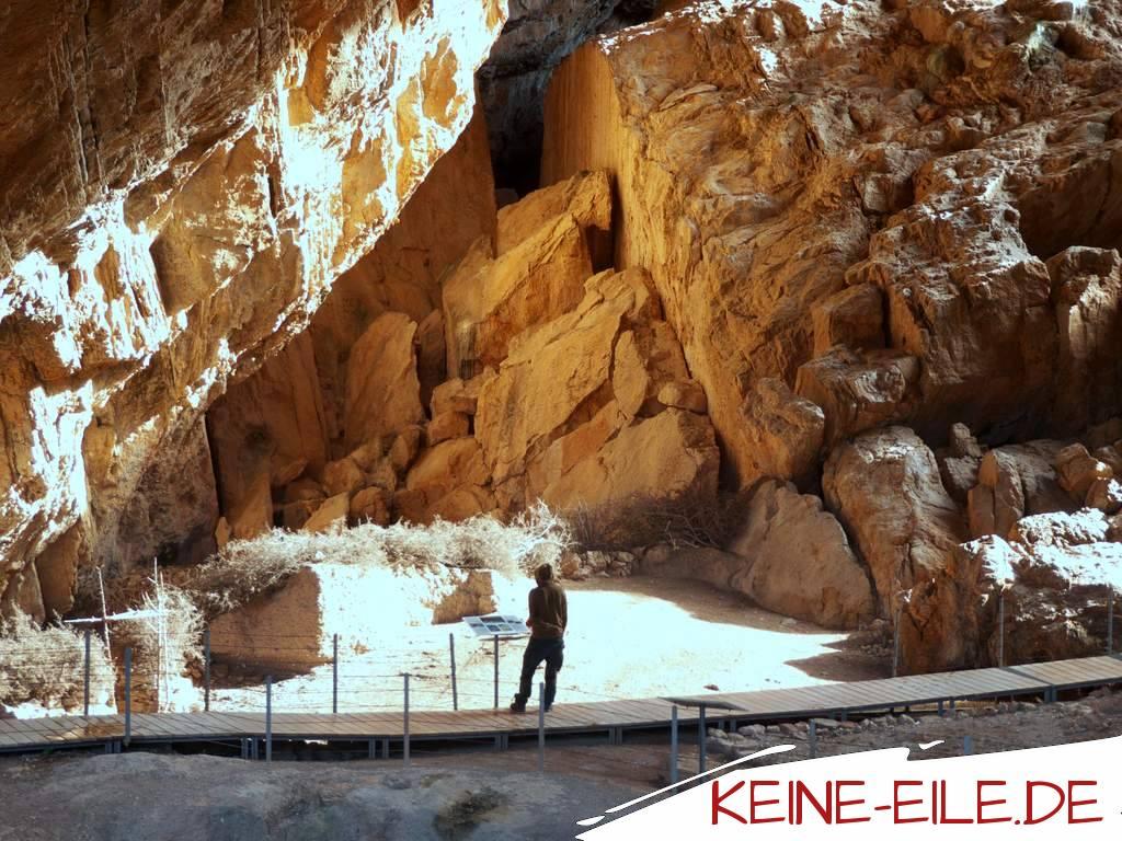 Besichtigung der Franchthi Höhle
