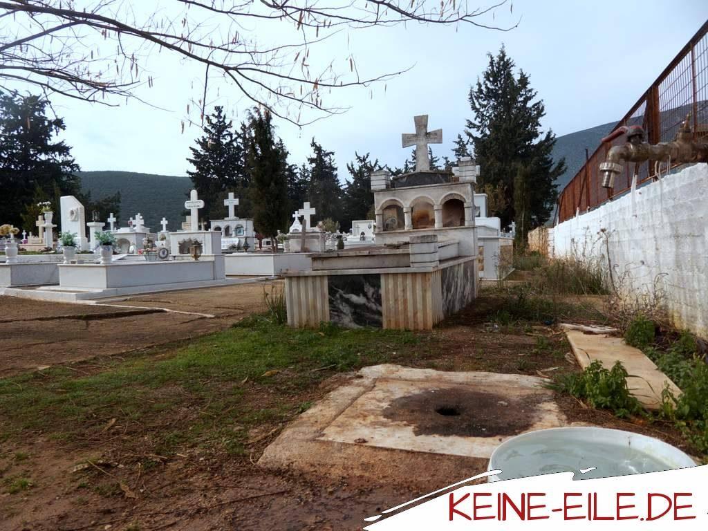Der Friedhof in Didima