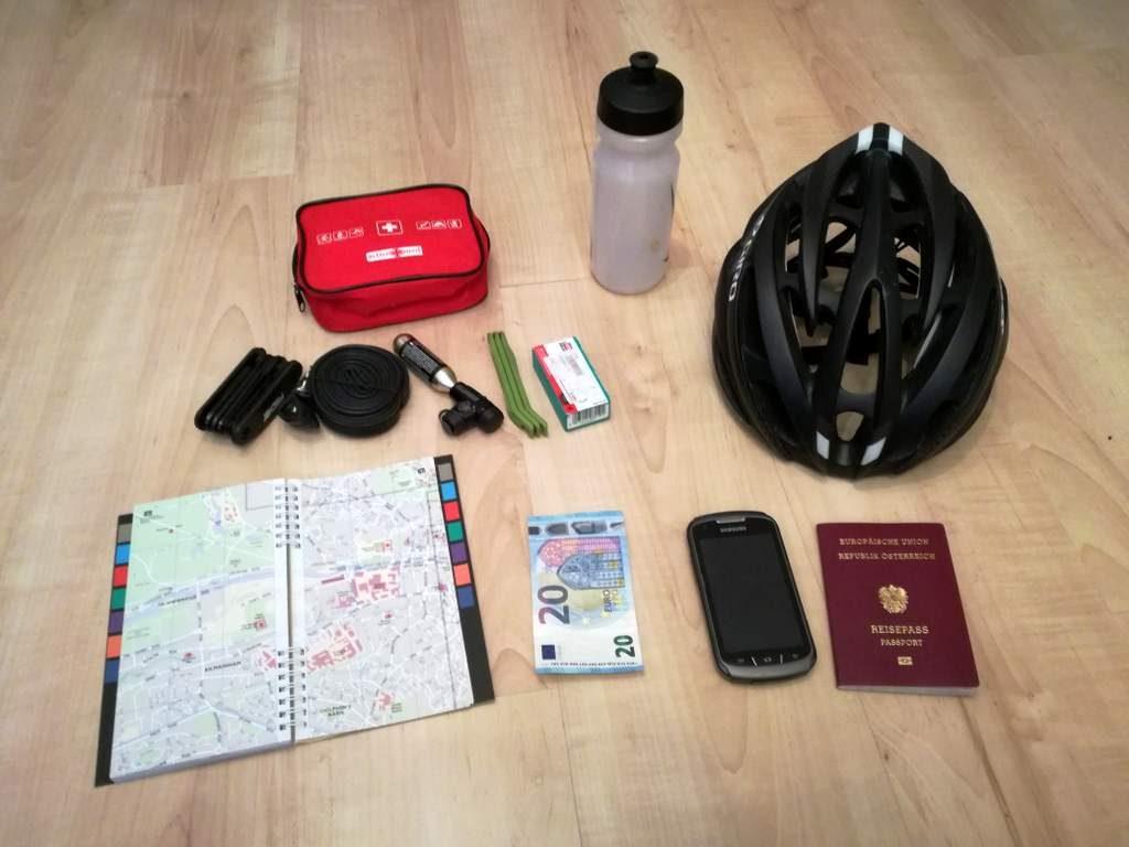 Radreise Kroatien: Ausrüstung