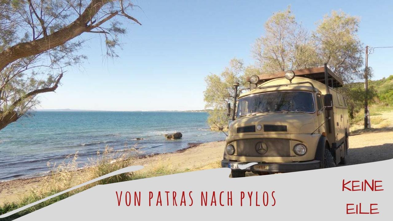 Peloponnes Video: Mit dem Wohnmobil von Patras nach Pylos
