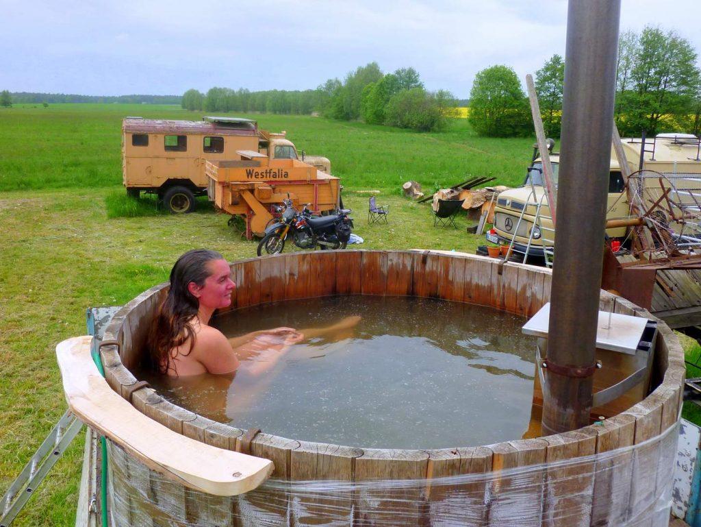Wohnmobil Dusche