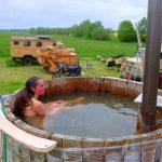 Die Wohnmobil Dusche: Notwendig? Selber bauen! Alternativen!