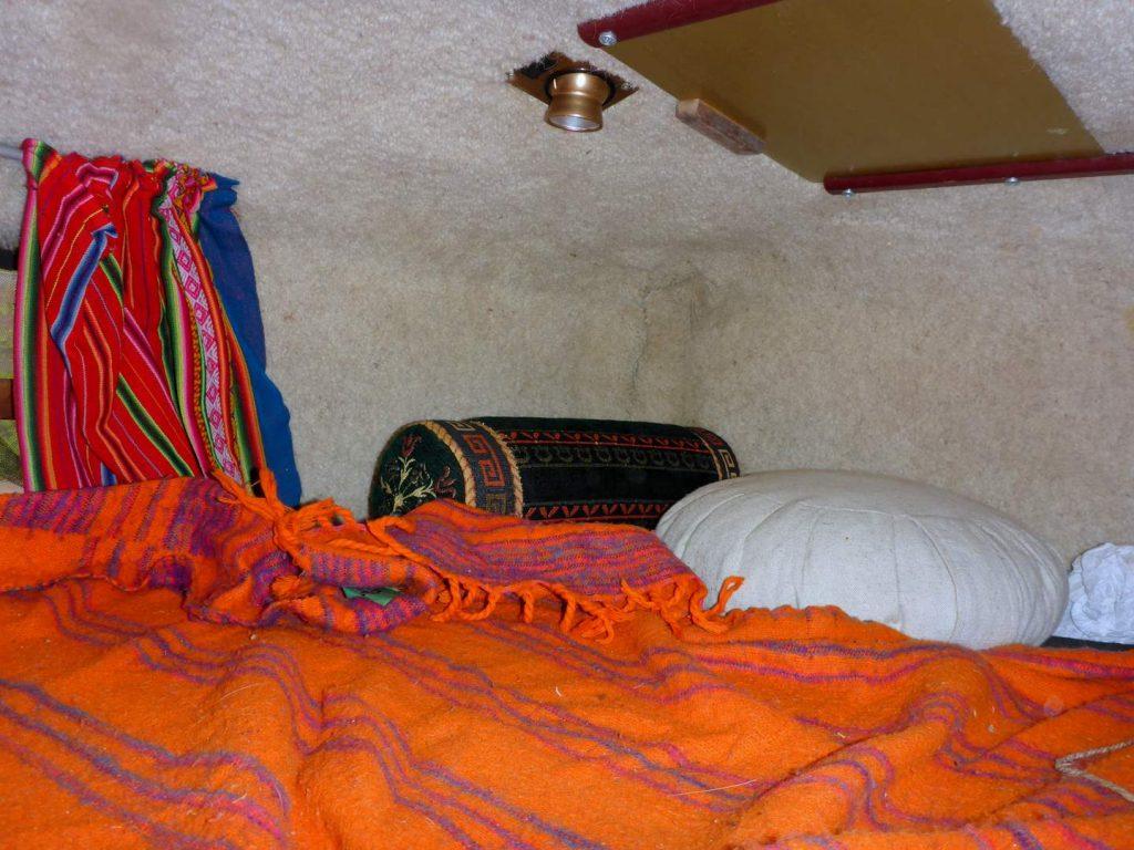 Hanomag AL 28 Schlafzimmer