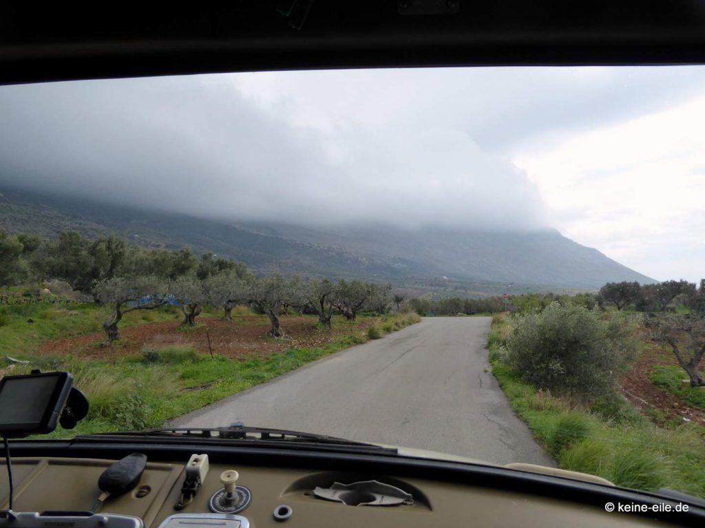 Fahrt zum Kap Maleas