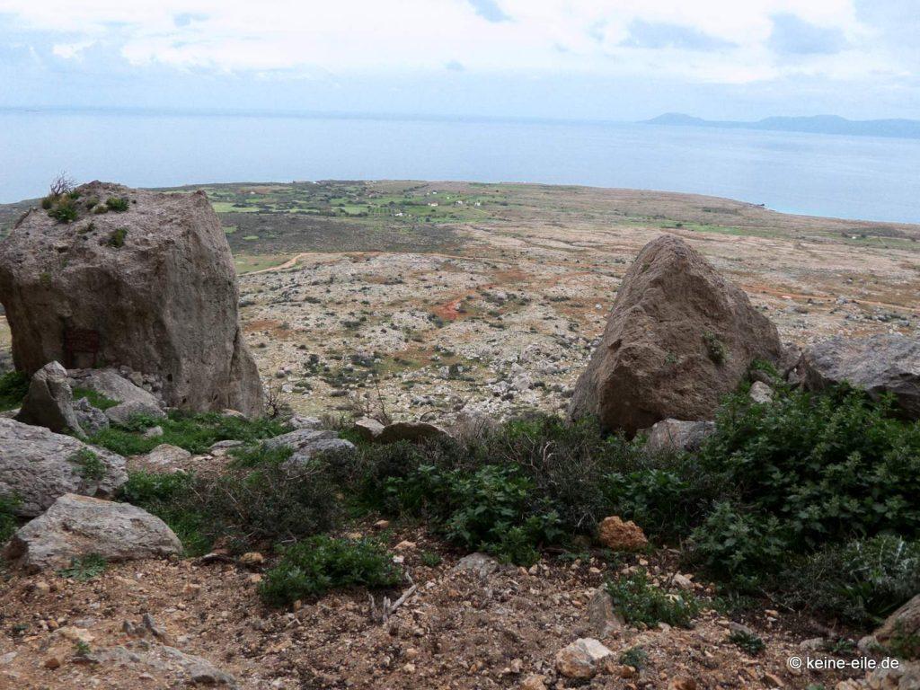 Kap Maleas Klettergebiet