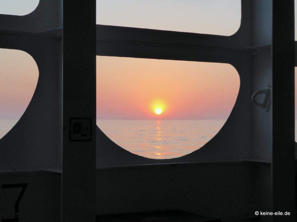 Auf der Fähre nach Ancona