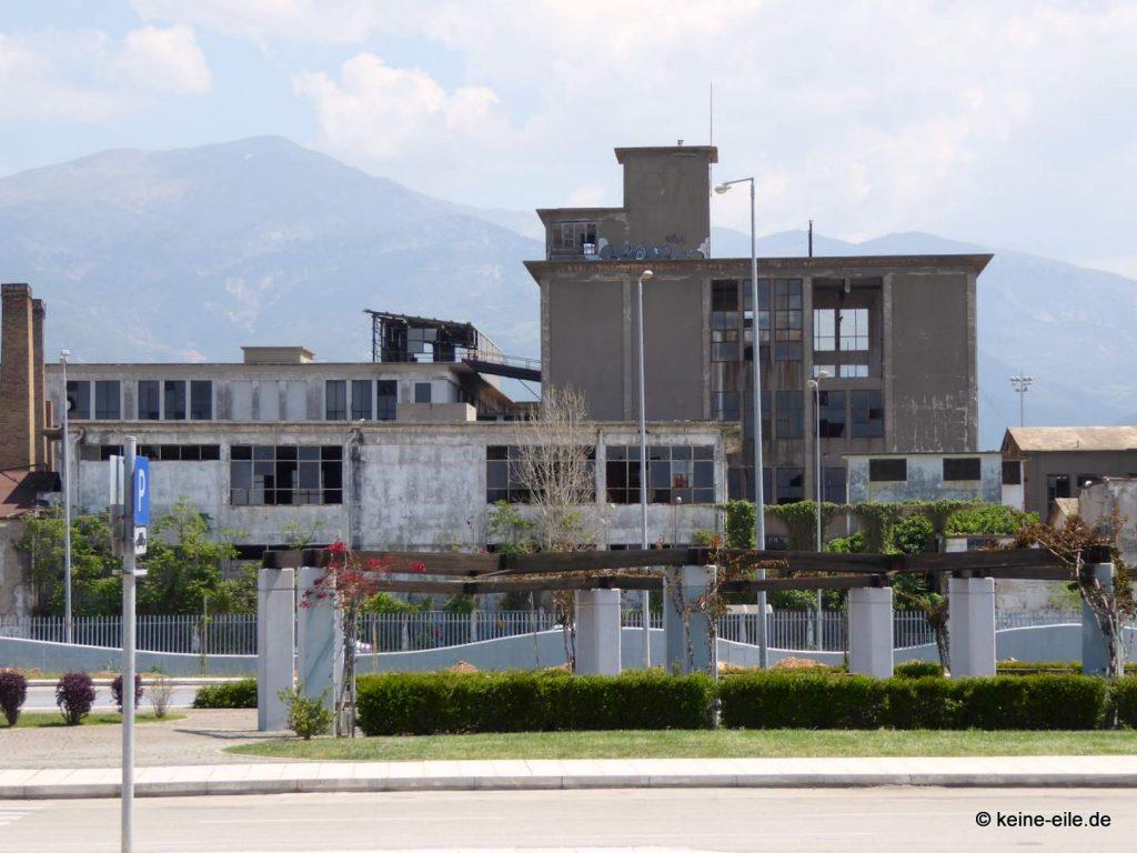 Industrieruinen in Patras