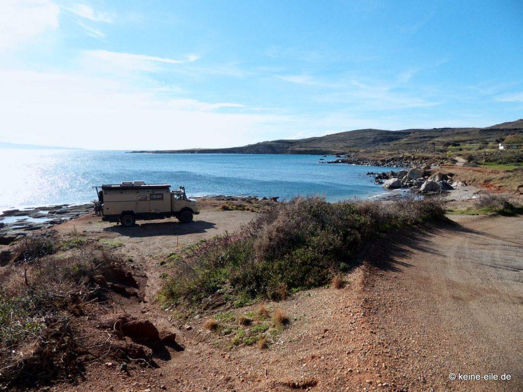 Strand bei Profitis Ilias