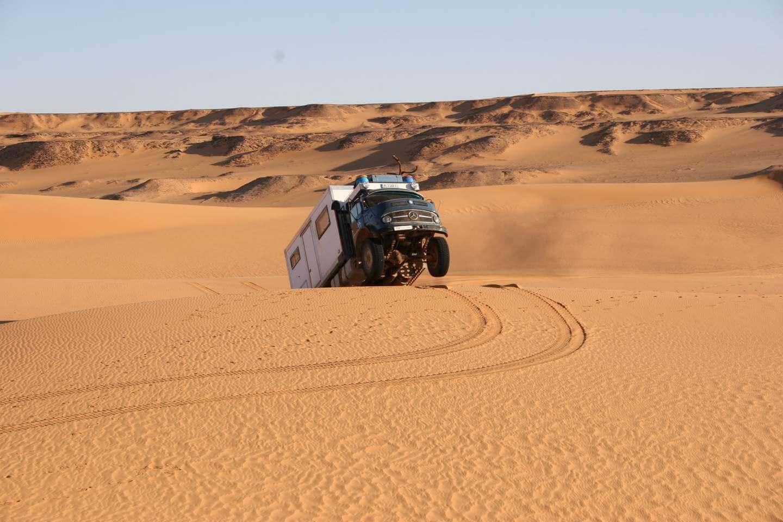 Mercedes 1113 in Libyen