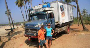 Mercedes 1113 in Goa