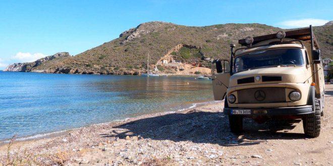 Überwintern auf dem Peloponnes in Griechenland mit dem Wohnmobil