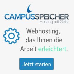 Banner Campusspeicher