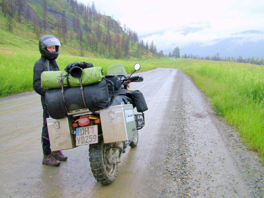 Motorrad Satteltaschen oder Koffer für die Langzeitreise?