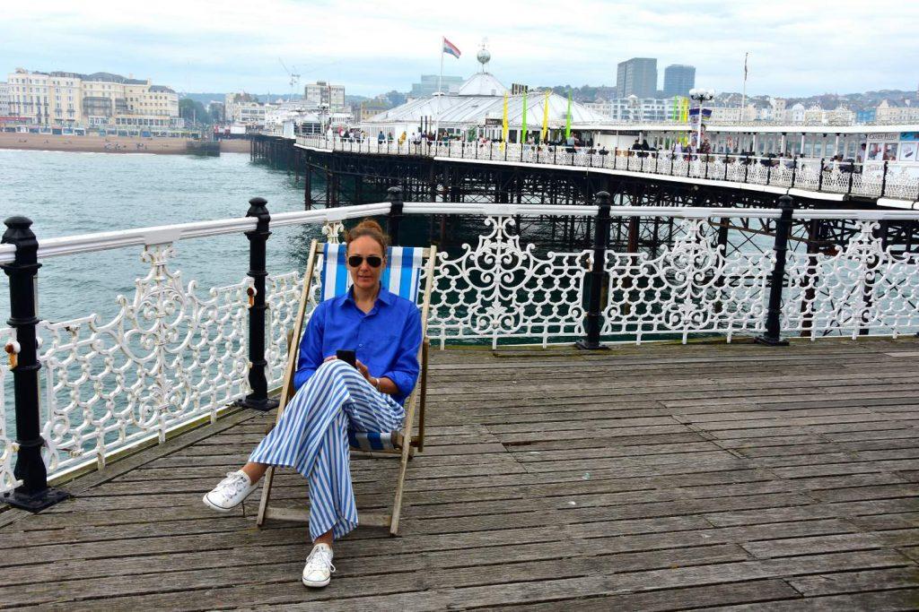 Segeln England: Brighton Pier