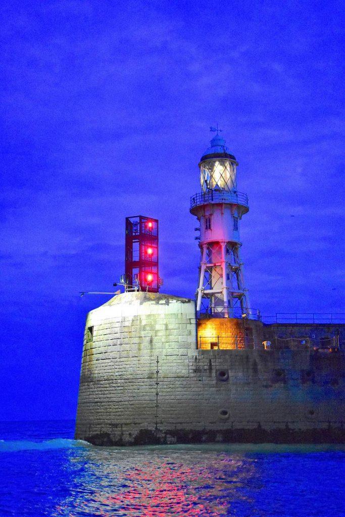 Segeln England: Nachtansteuerung Dover Harbour