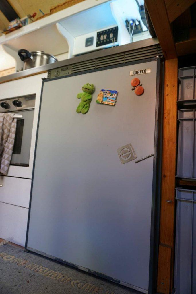 Wohnmobil Batterie für den Kühlschrank