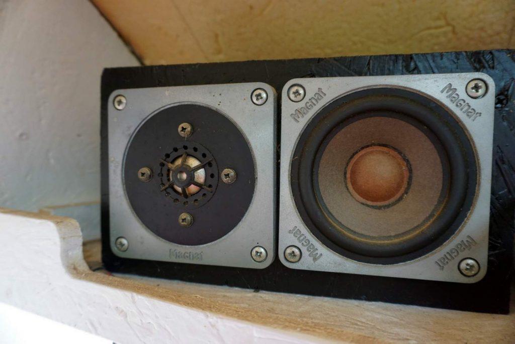 Wohnmobil Batterie für Musik